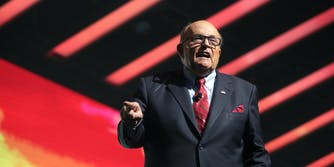 Rudy Giuliani. Dominion Voting Systems filed a lawsuit against Giuliani accusing him of defamation.