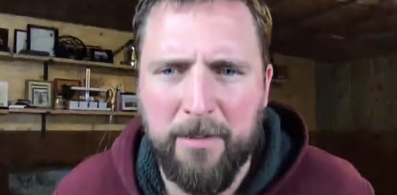 picture of alt right comedian owen benjamin, who is involved in a patreon lawsuit