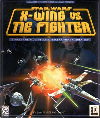 Cover art for Star Wars: X-Wing vs. Tie Fighter