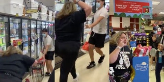 Anti-mask protesters swarm grocery store and mall