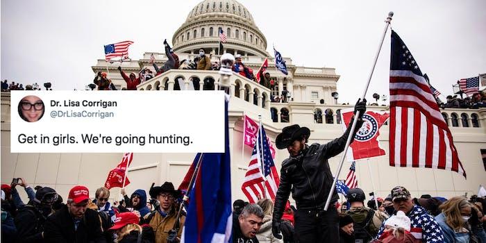 bumble capitol riot