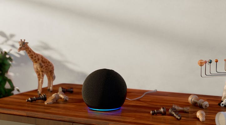example of how to place Echo Dot at home