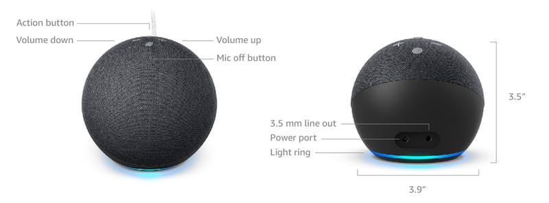 ports for the echo dot