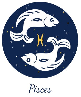 Pisces as symbolized by the Fish.