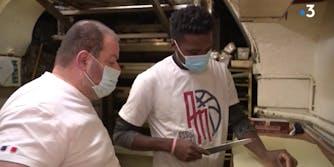 french bake stops deportation hunger strike