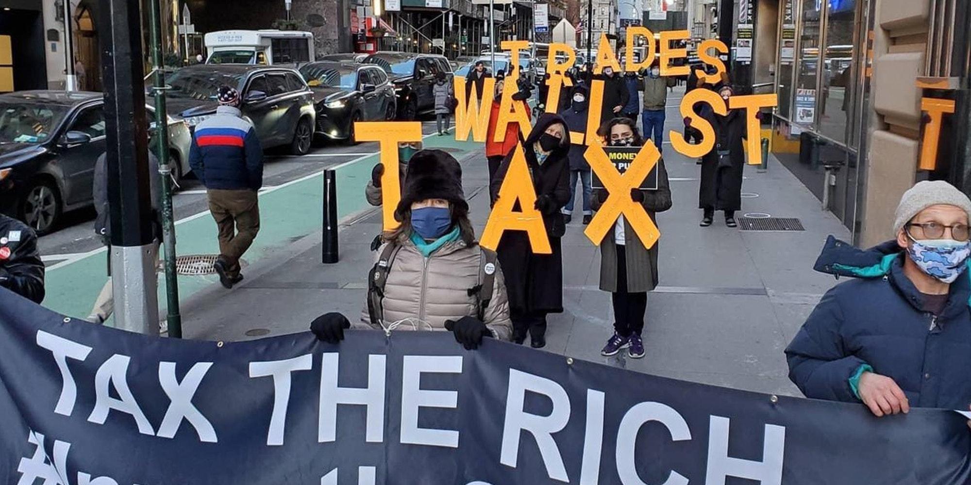 Wall Street protests GameStop Robinhood video