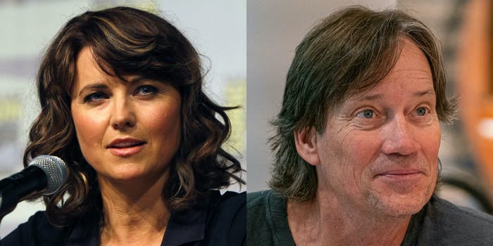 Lucy Lawless claps back at Kevin Sorbo on Twitter