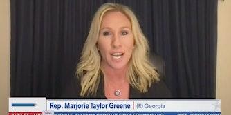 marjorie taylor greene impeachment biden