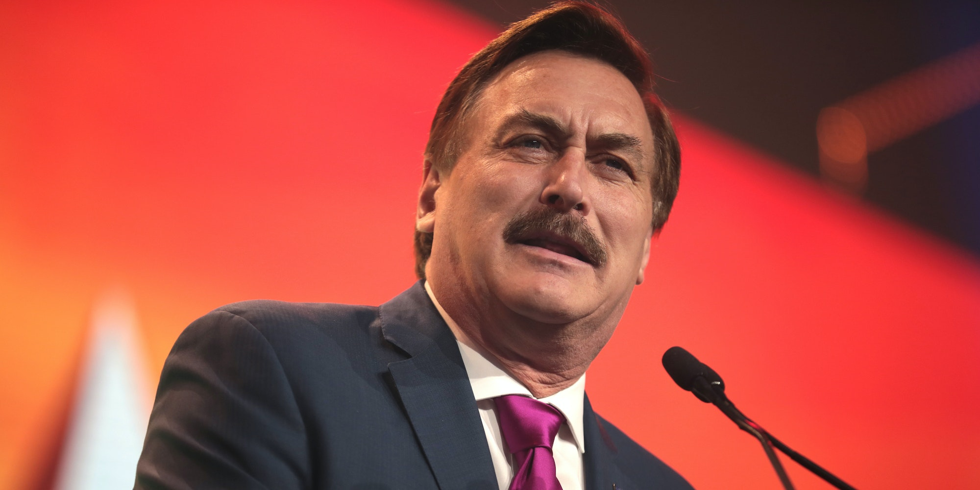Mike Lindell banned from Twitter