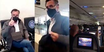 Video shows Trump supporters harassing Mitt Romney on airplane