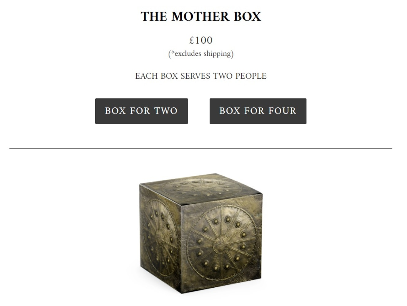 mother box meal