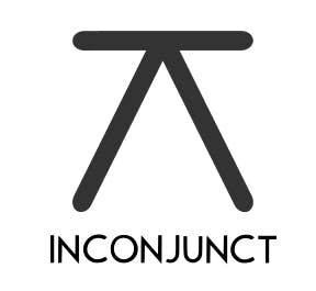 Astrology report symbol for inconjunct planets, looks like an upside down V with a horizontal line on the to.