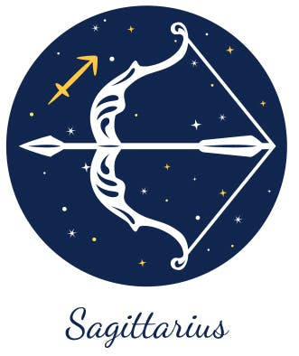 Sagittarius as represented by the Archer.