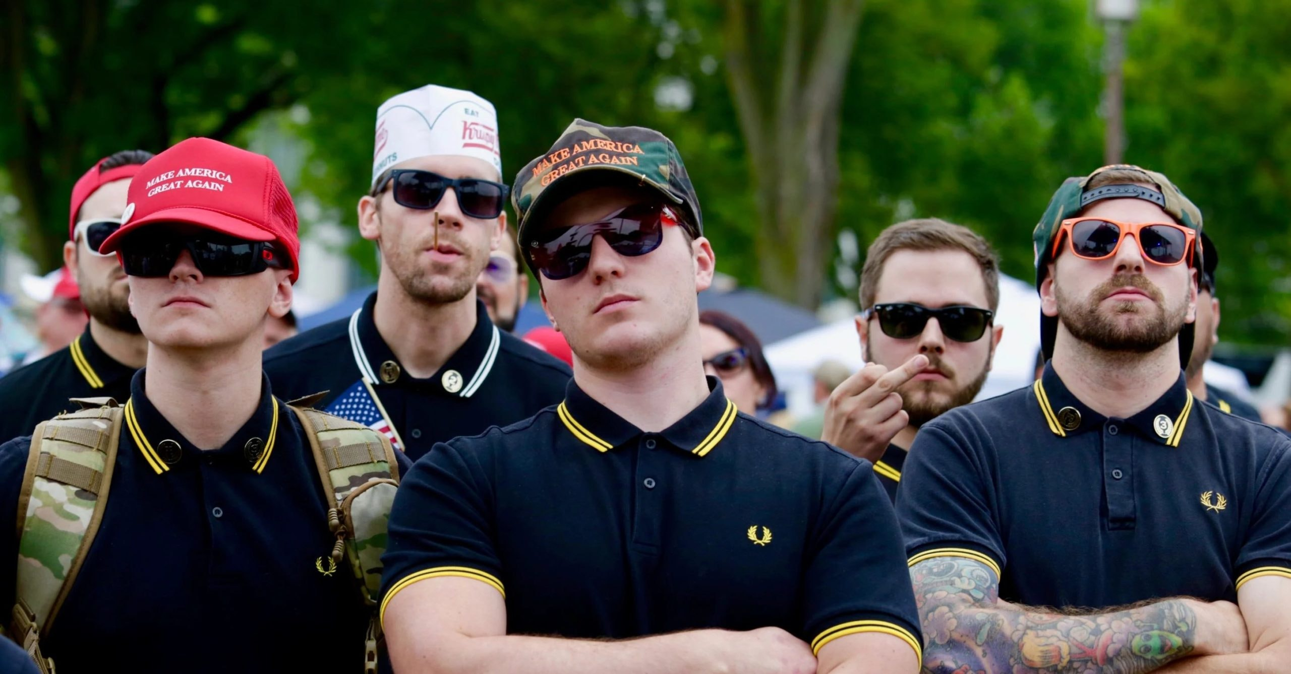 The Proud Boys declare war on the uncool 'QBoomers' of QAnon