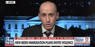 """Stephen Miller on Fox News with """"New Biden Immigration Plans Invite Violence"""" chiron"""