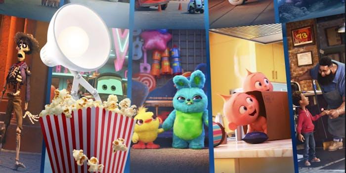 stream Pixar Popcorn