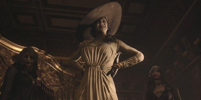 tall vampire lady