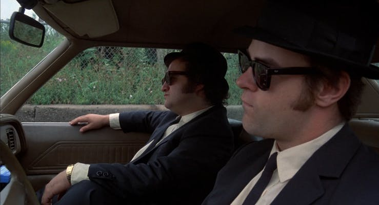 best comedy movies on showtime the blues brothers