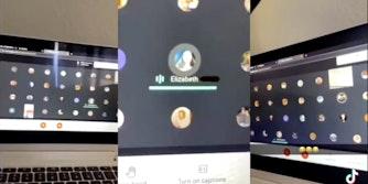 tiktok x-rated noises zoom class