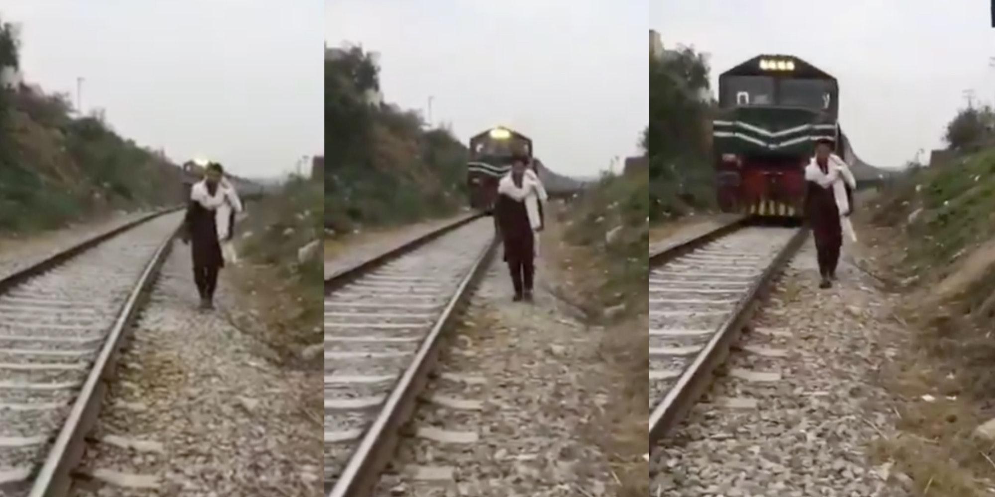 tiktoker killed by train video