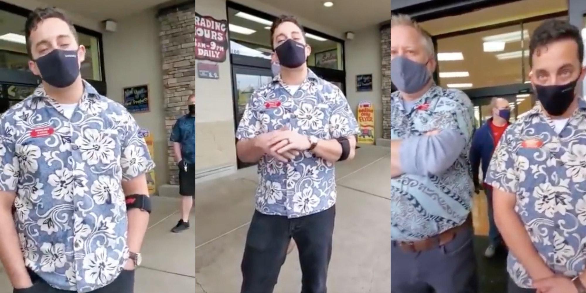 Trader Joe's manager shuts down anti-mask Karens