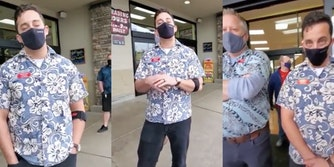Trader Joe's manager shuts down anti-mask Karens