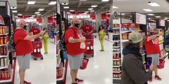 video-man-sprays-cleaner-on-anti-masker-mob-target