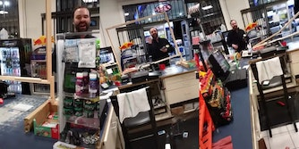 White man harasses gas station employee with anti-Muslim slurs