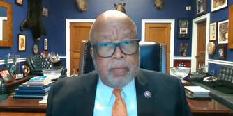 Rep. Bennie Thompson speaks about Section 230 during a Homeland Security Committee meeting.