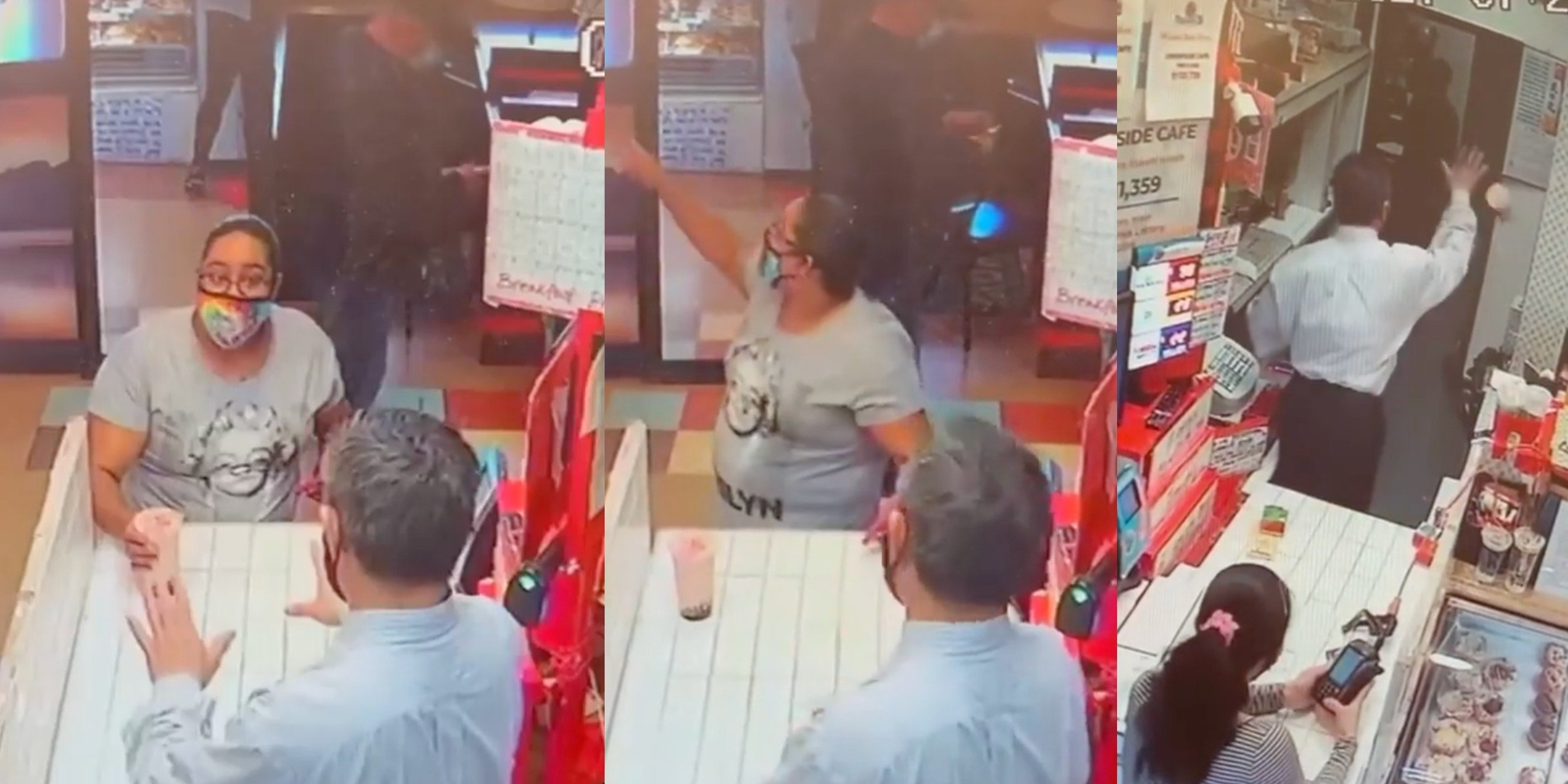 A boba shop got review-bombed after a customer claimed the owner threw a drink on her and her child—but a video shows otherwise