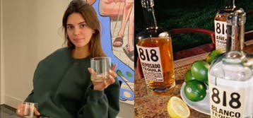 Kendall Jenner introduces her tequila brand 818