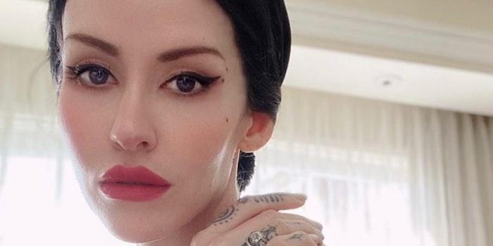 Marilyn Manson's wife Lindsay Elizabeth Warner