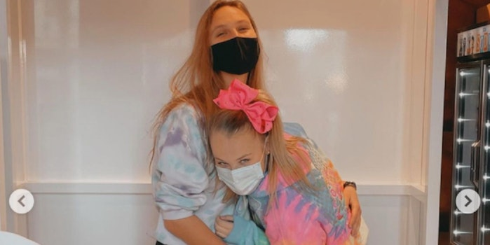 JoJo Siwa and her girlfriend Kylie