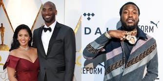 Vanessa Bryant criticizes Meek Mill for disrespectful Kobe lyric