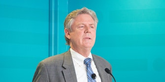 Rep. Frank Pallone spoke about net neutrality at an INCOMPAS event on Tuesday.