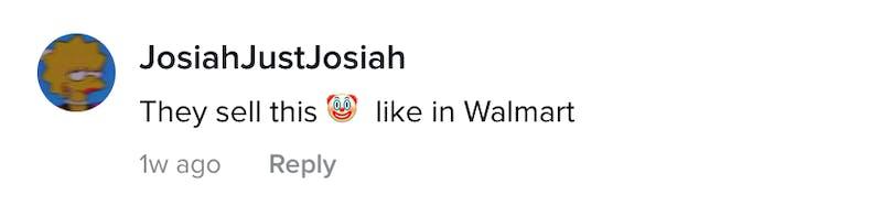 JosiahJustJosiah: They sell this clown emoji in Walmart