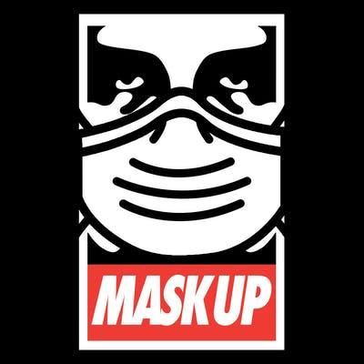 MaskUP_Shareable_Obey_Parody_Graphic