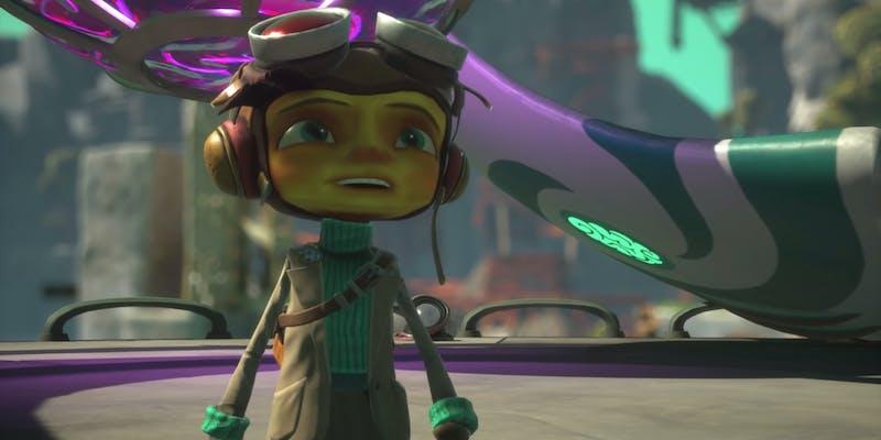 Anticipated 2021 video game 'Psychonauts 2' character Raz