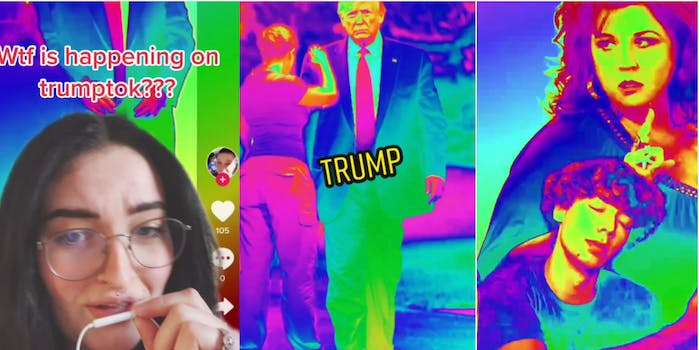 People are trolling the latest Trump TikTok trend that memorializes the president