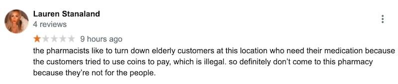 Walmart review