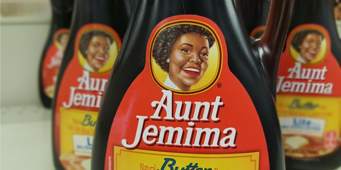 Aunt Jemima syrup rebrands to Pearl Milling Company.