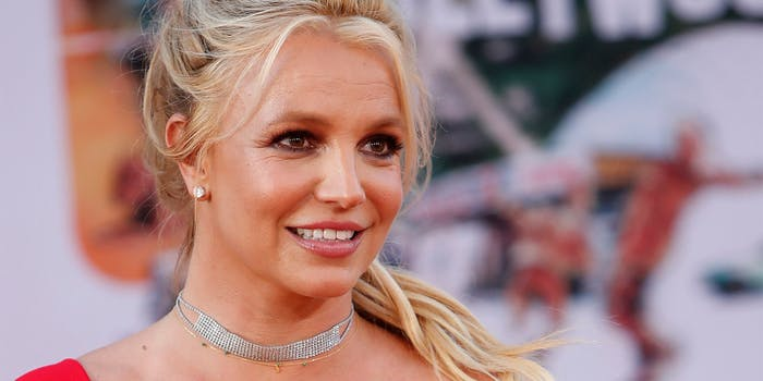 "Britney Spears at the ""Once Upon a Time in Hollywood"" Premiere"