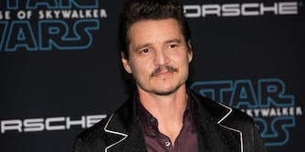 Pedro Pascal at attends the Star Wars: The Rise of Skywalker premiere