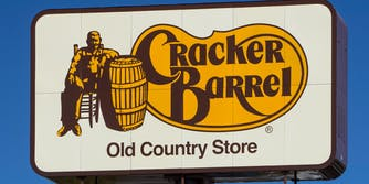 billboard sign for cracker barrel