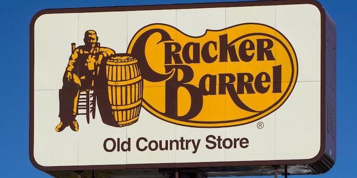 billboard sign for cracker barrel