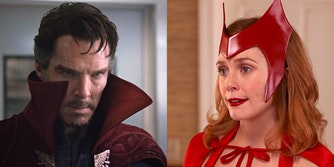dr strange and scarlet witch