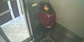 Elisa Lam elevator security footage