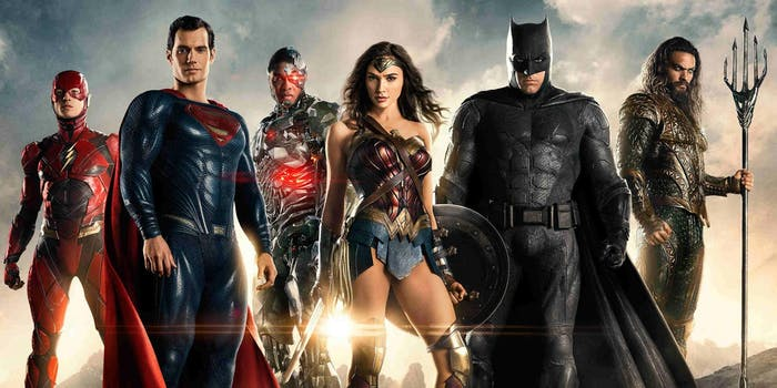 justice league rating