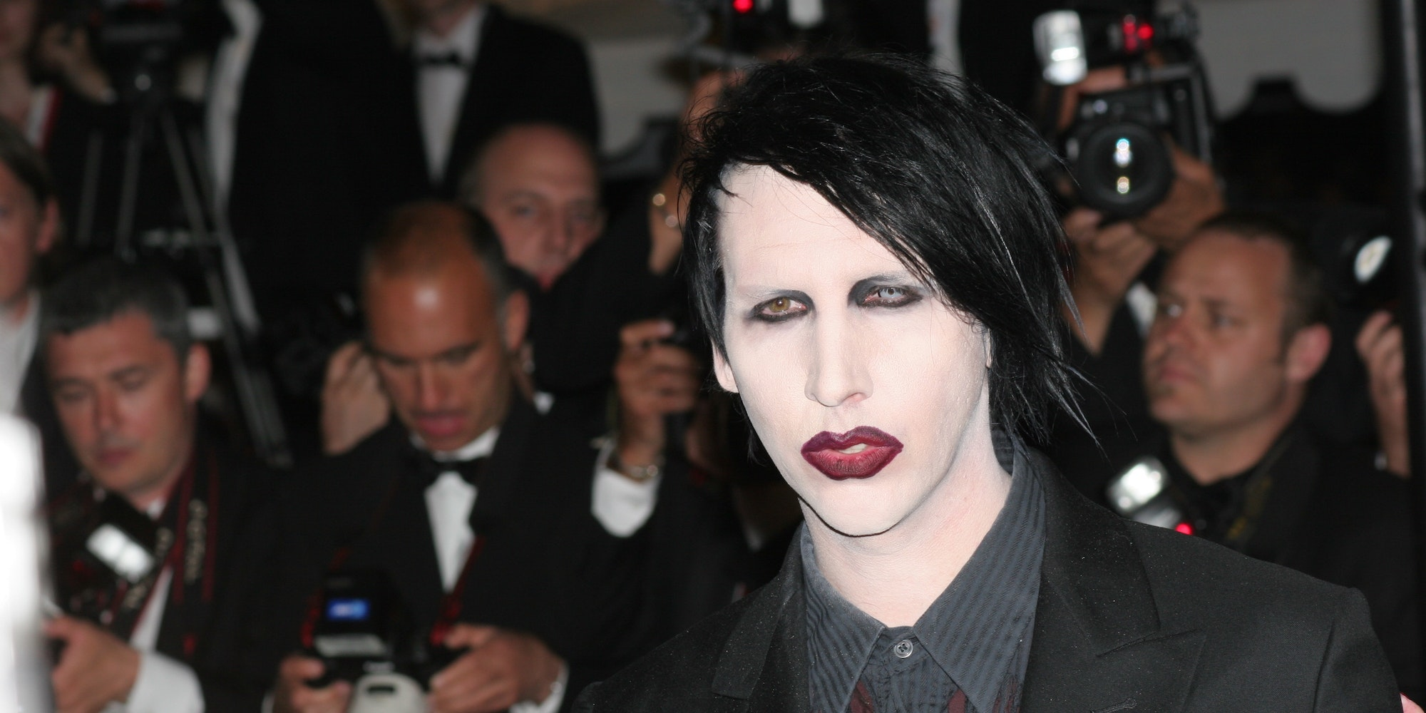 Marilyn Manson abuse