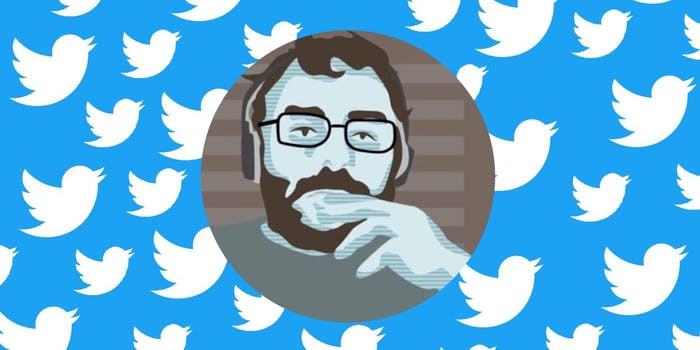 The Twitter profile of journalist Michael Tracey